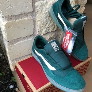 Men's 10.5 Vans AVE Pro Pine/Clear